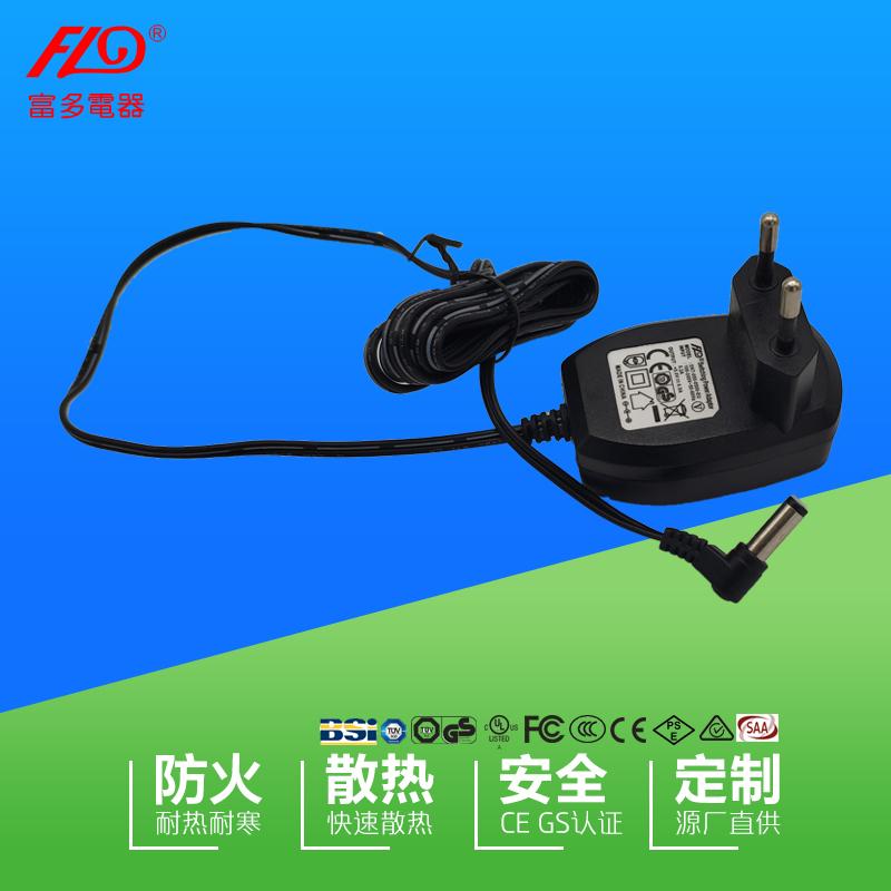 富多供应12v1a欧规CE/GS线性电源适配器低压电源现货支持定做