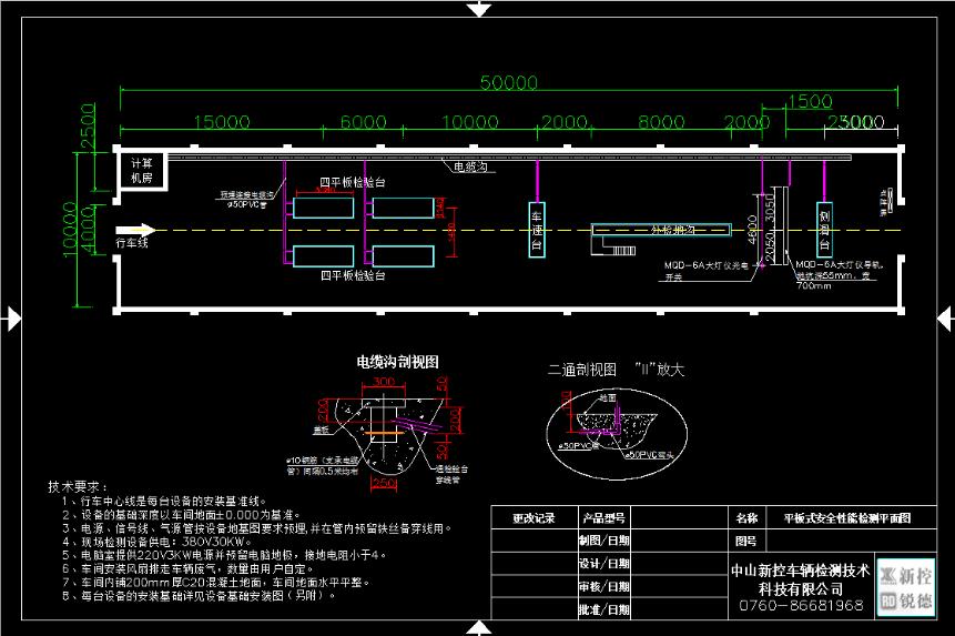 XKPB 汽车平板式安全性能检测线