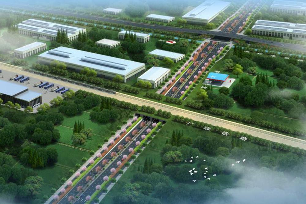 珠海市富山工业园市政主干路网一期富山大道中段及青啤路西段工程