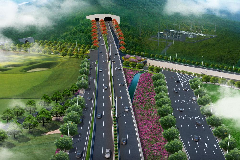 兴业快线(北段)-西线隧道(试验段)工程