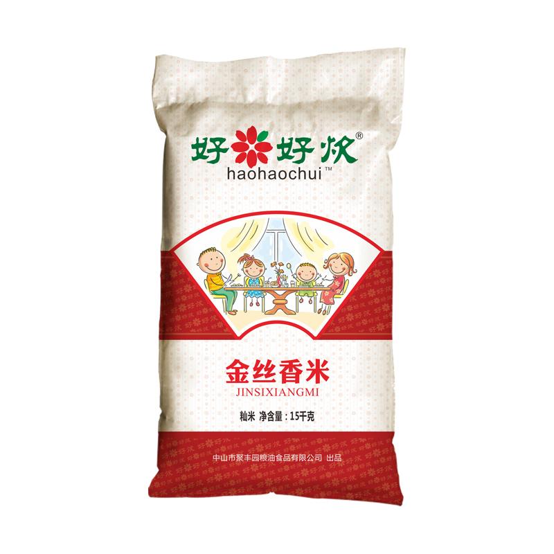 好好炊金丝香米15kg