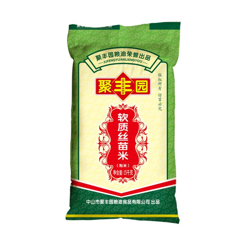 聚丰园软质丝苗米15kg