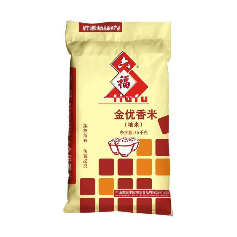 六福金优香米15kg