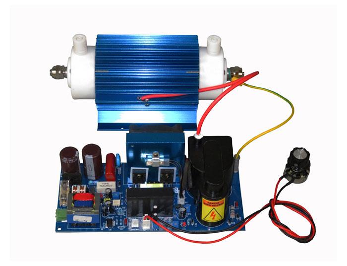 (YJ-15GC) 15G water cooled quartz tube ozone generator accessories