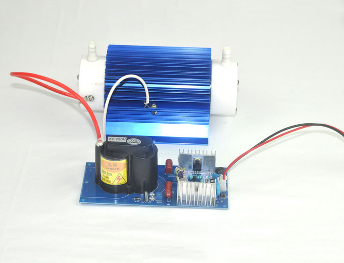 10G/H dual air-cooled open adjustable quartz tube ozone accessories