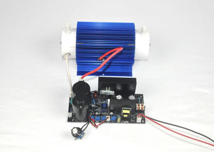Dual air cooled 10G/H quartz tube ozone accessories