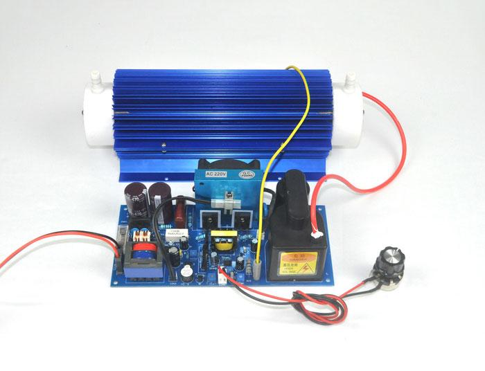 Dual air cooled 20G/H quartz tube ozone accessories