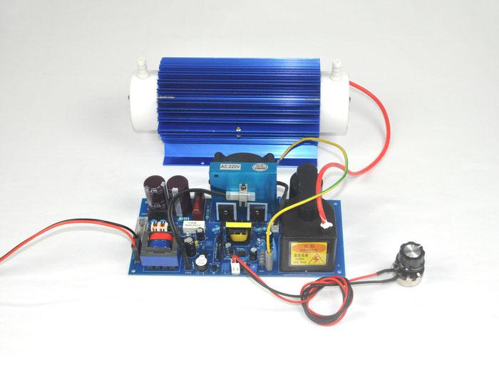 Dual air cooled 15G/H quartz tube ozone accessories