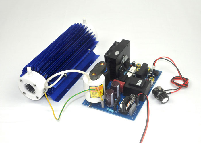 Dual air cooled 30G/H quartz tube ozone distribution件