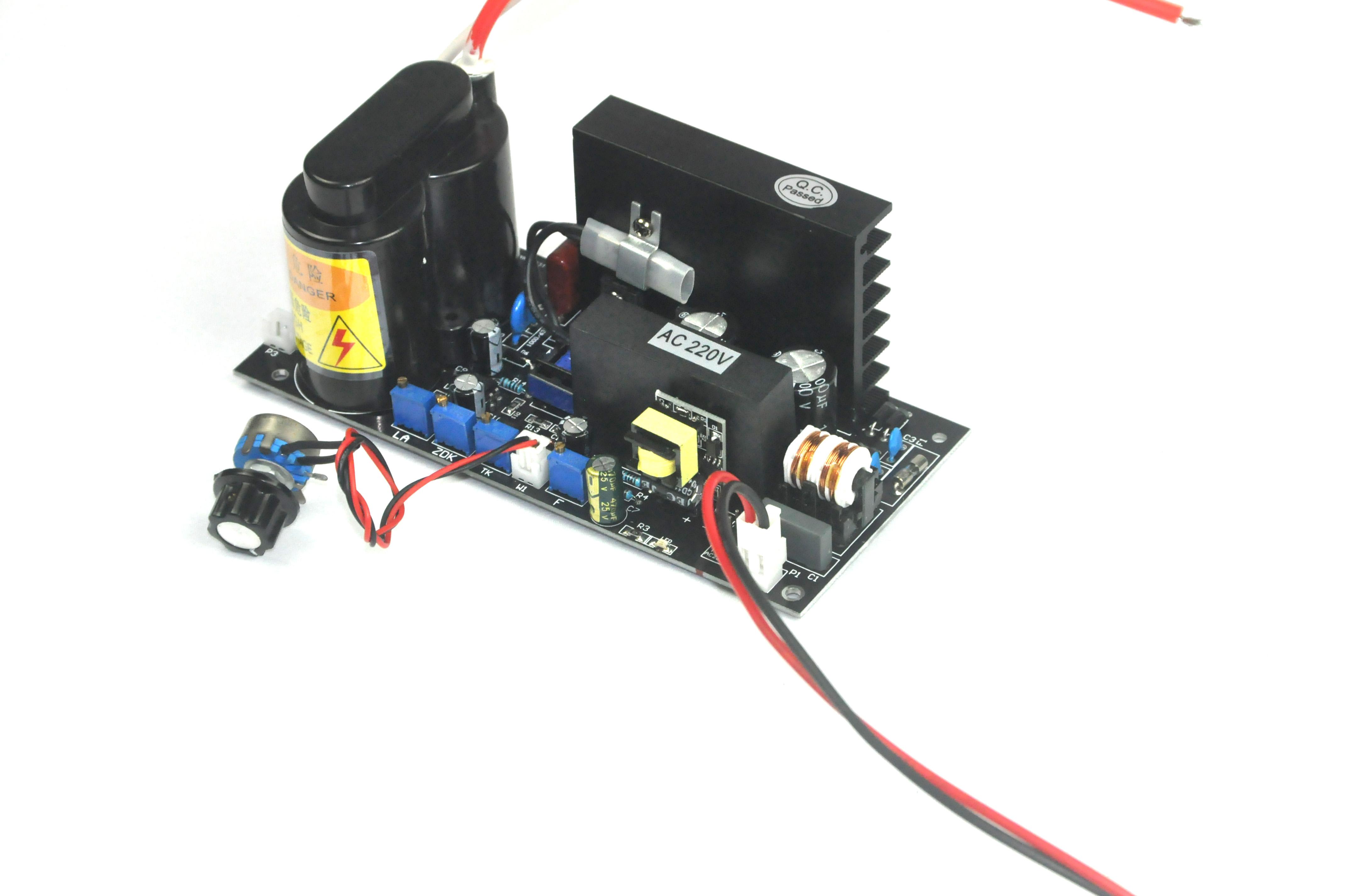 80W功率可调电源.臭氧发生器匹配电源,线路板,80瓦臭氧电源,臭氧发生器专用电源,80W电路板。