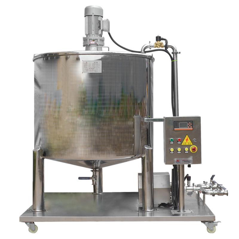 立式不锈钢搅拌桶  精准称重系统 自动配料单层搅拌缸