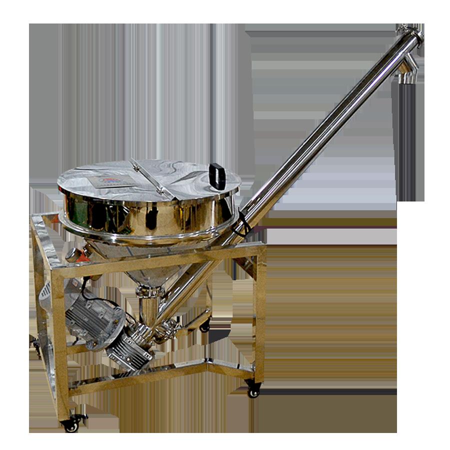 可移动 螺旋面粉上料提升机输送机 分类螺杆式上料机不锈钢送料机