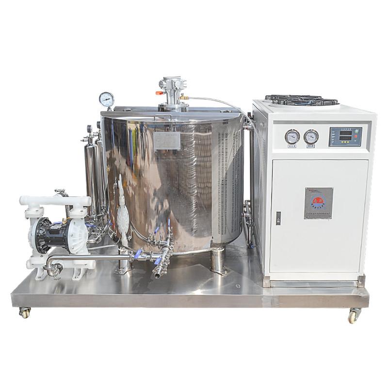香水搅拌机 自动配料缸 自动计量醇化冷却过滤制冷机设备