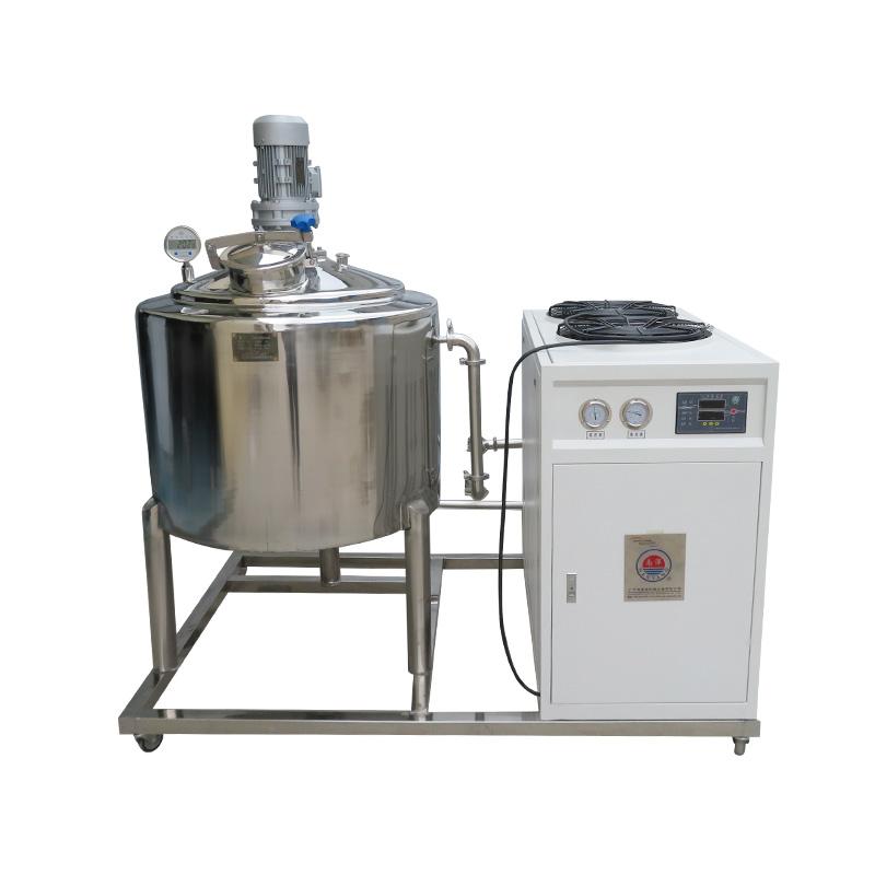 不锈钢制冷罐 食品级制冷设备 1吨酱料饮料制冷罐设备 食品制冷罐厂