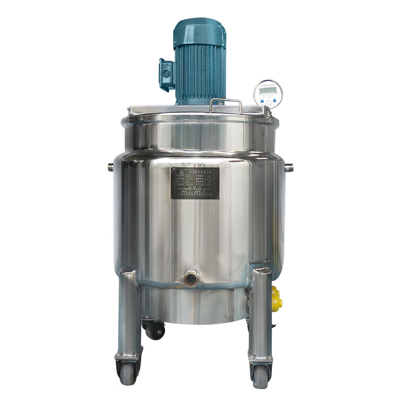 移动型不锈钢液体搅拌机 混合搅拌罐 高速搅拌桶 加热液体搅拌桶 电加热分散搅拌桶 移动式物料搅拌分散桶 不锈钢高速搅拌桶定制