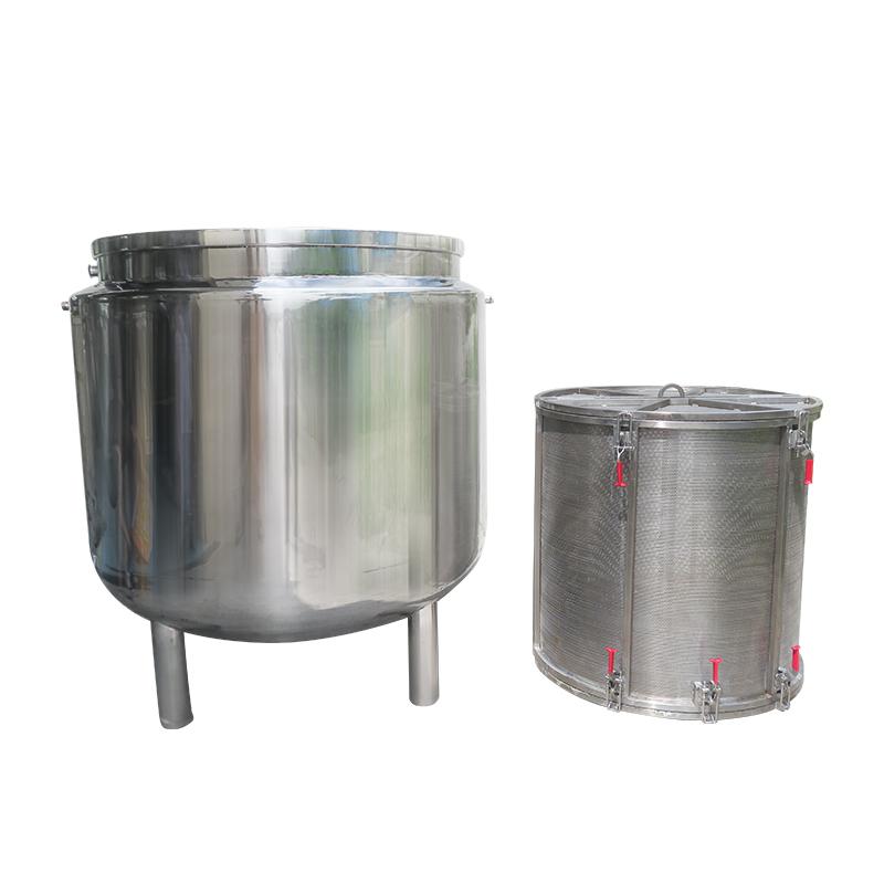 大型蒸汽煮豆锅内带不锈钢篮 豆类蒸煮锅 商用高温蒸煮设备非标定制