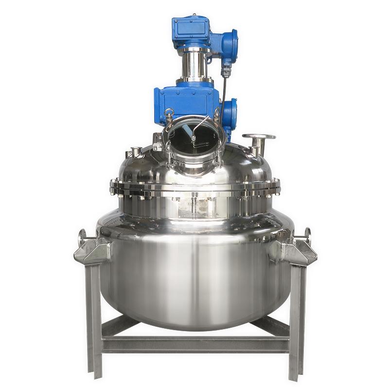 不锈钢高速搅拌真空反应釜 电加热高温液体称重反应罐 蒸汽反应釜非标定制设计
