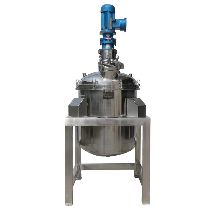不锈钢防爆反应罐 自动称重单层反应釜 立式电加热不锈钢反应釜