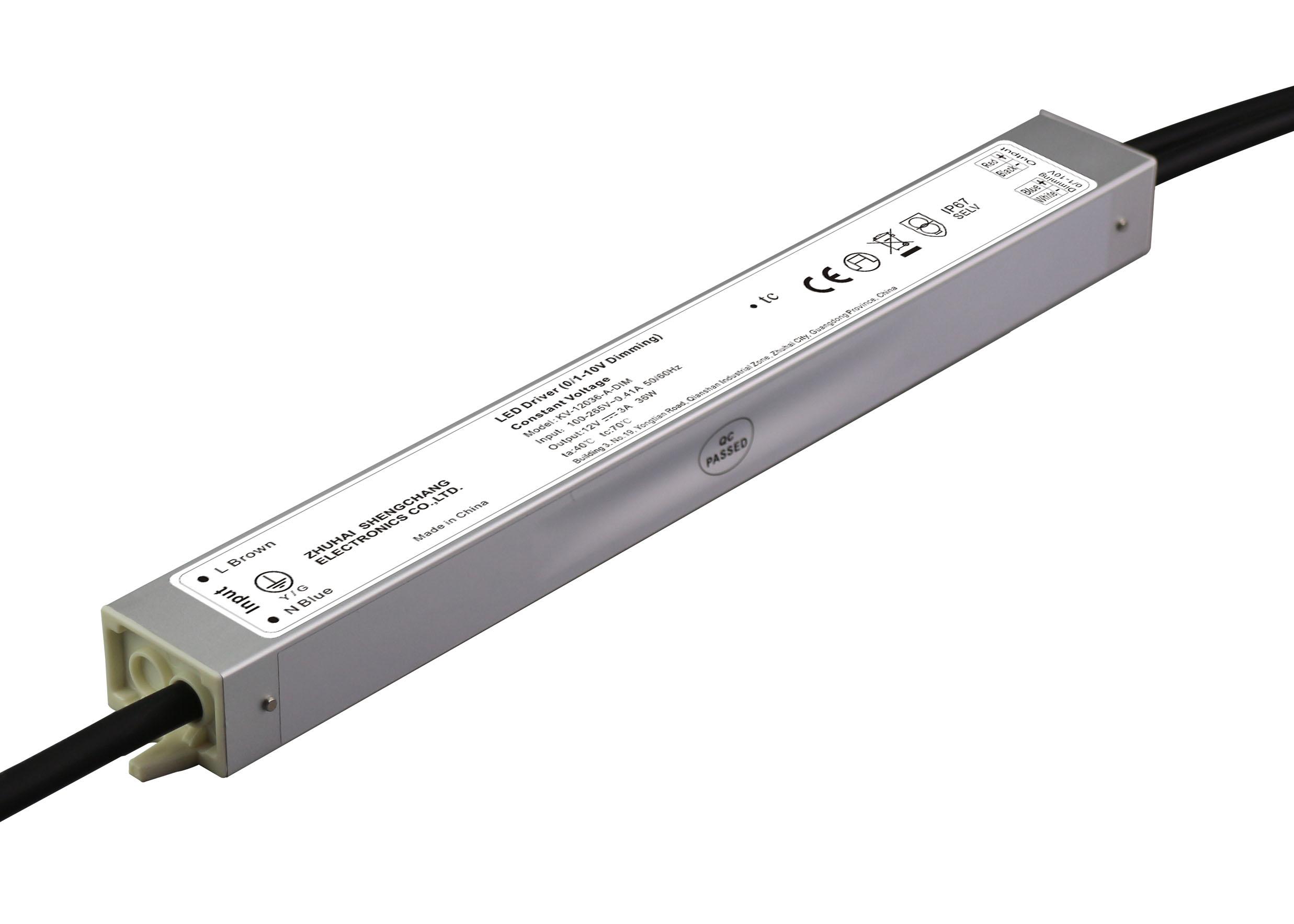 36W 12V/24V 0/1-10V LED调光电源