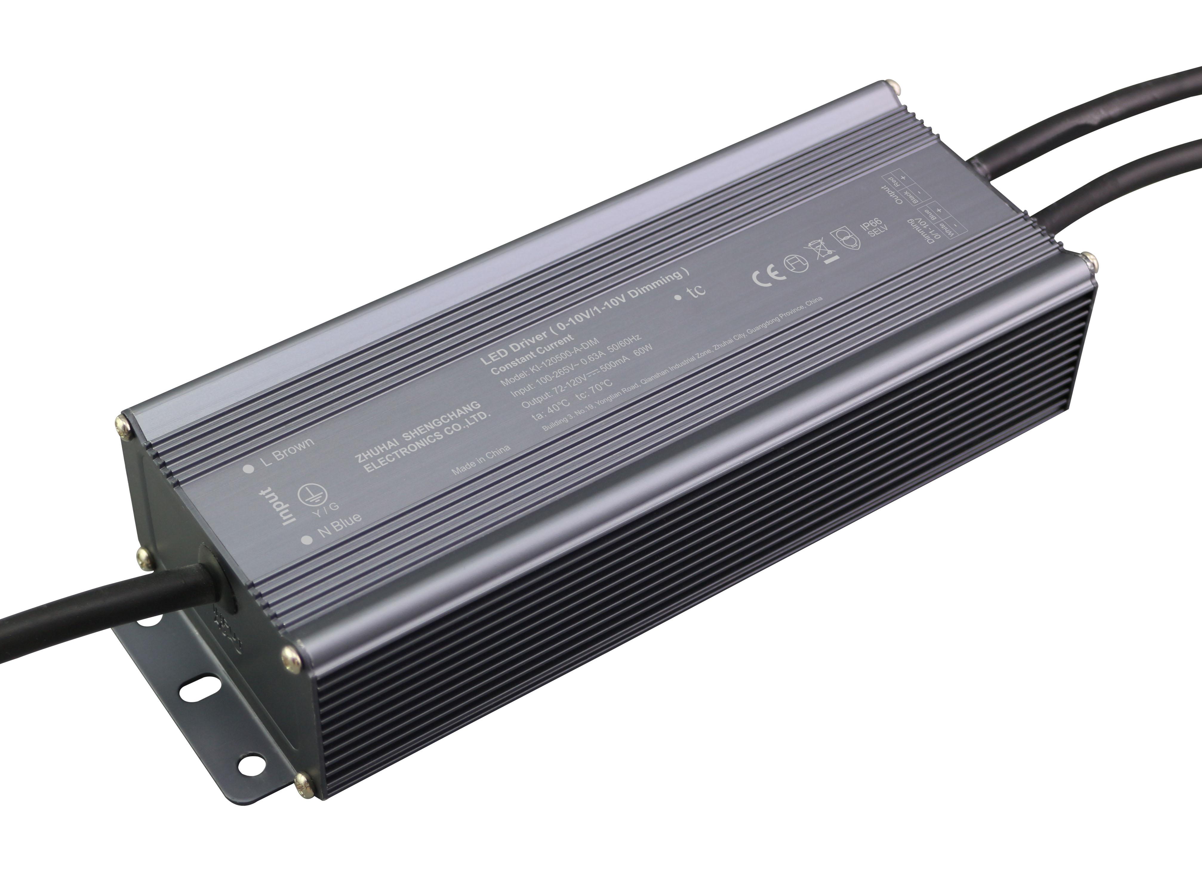 60W 0/1-10V 恒流调光电源