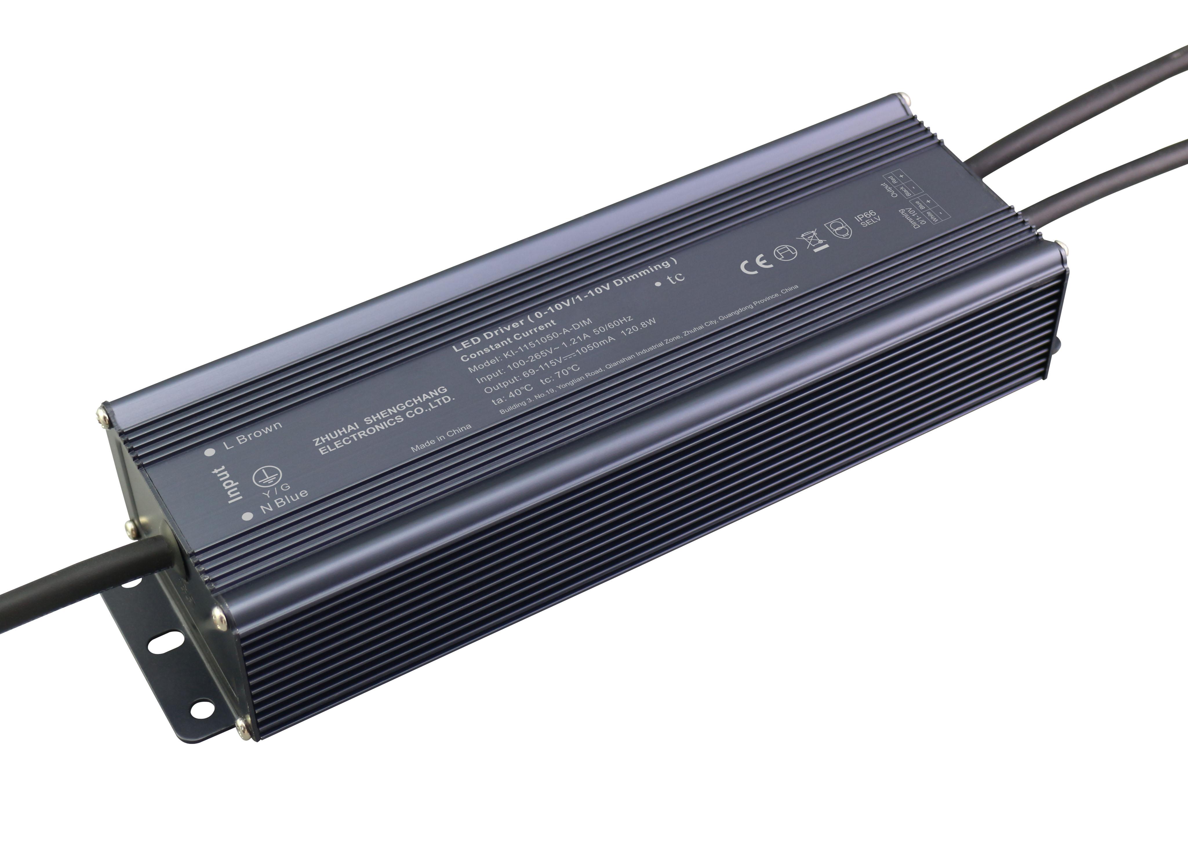 120W 0/1-10V 恒流调光电源