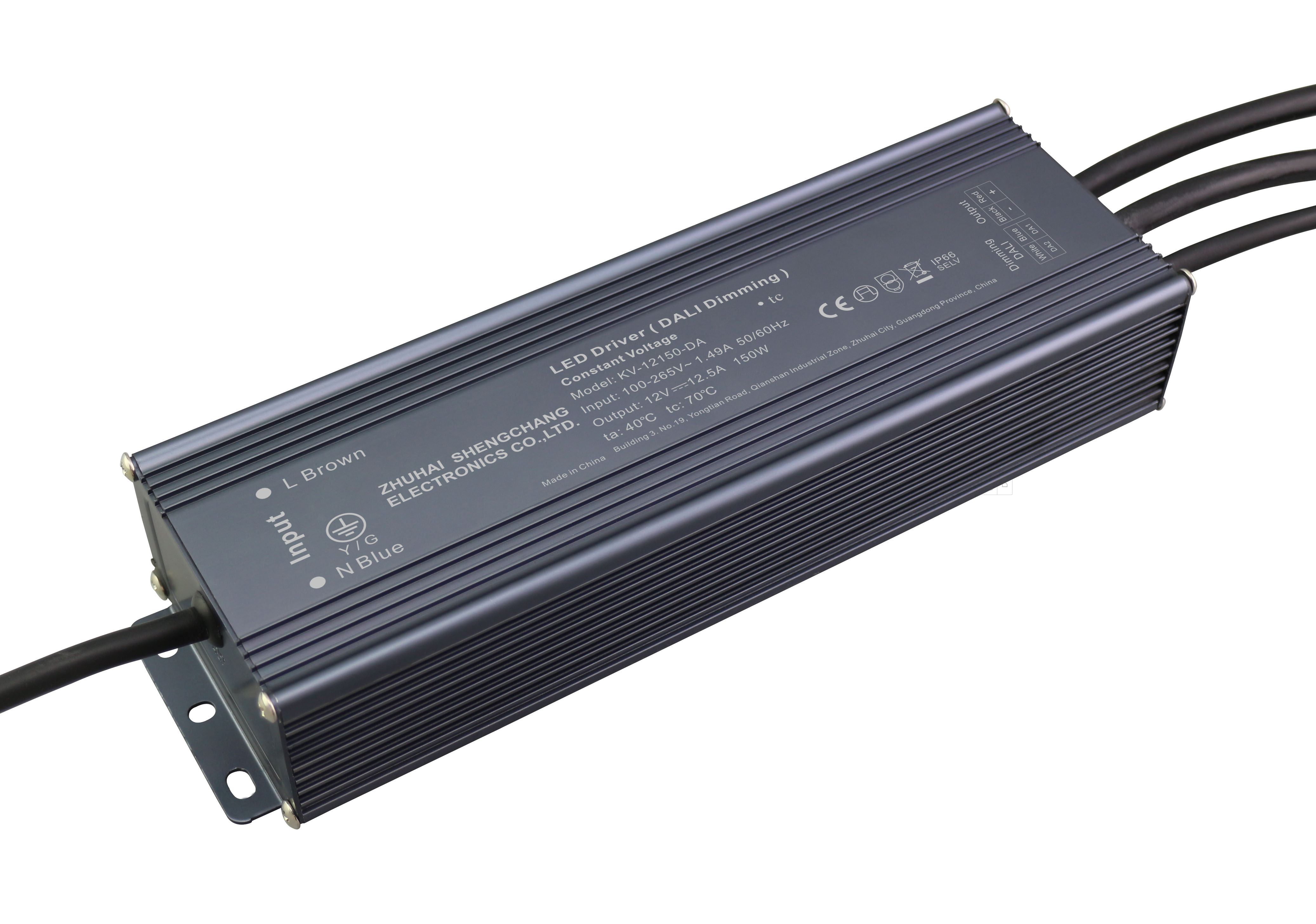 150W 12V/24V DALI 调光驱动电源