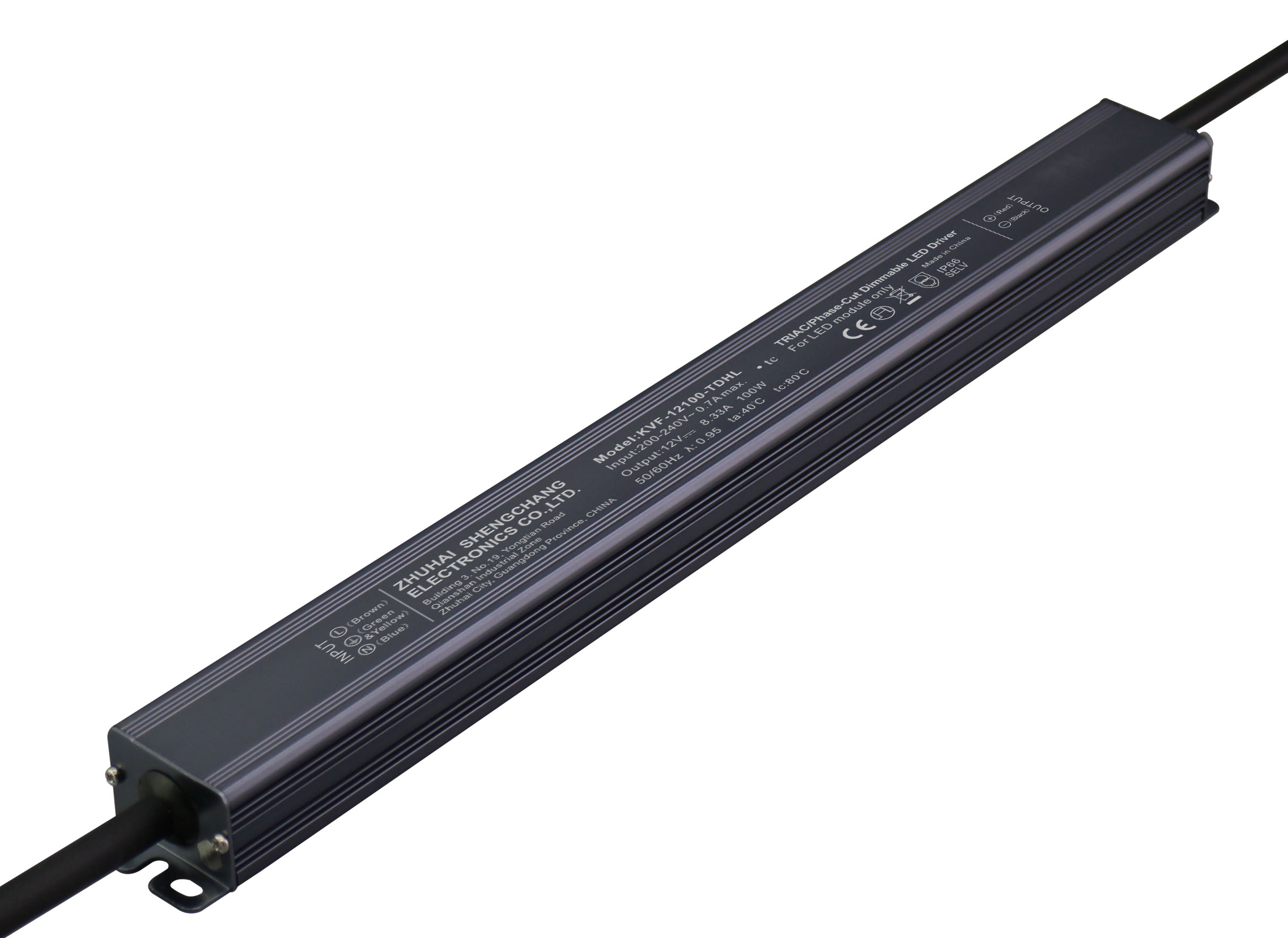 220VAC KVF Series 100W Constant Voltage Triac Dimmable LED driver