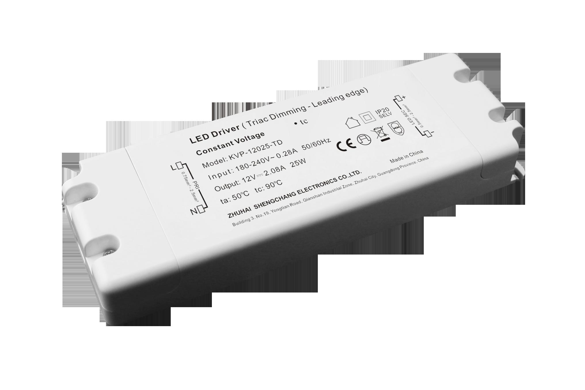 25W 12V/24V 可控硅调光电源