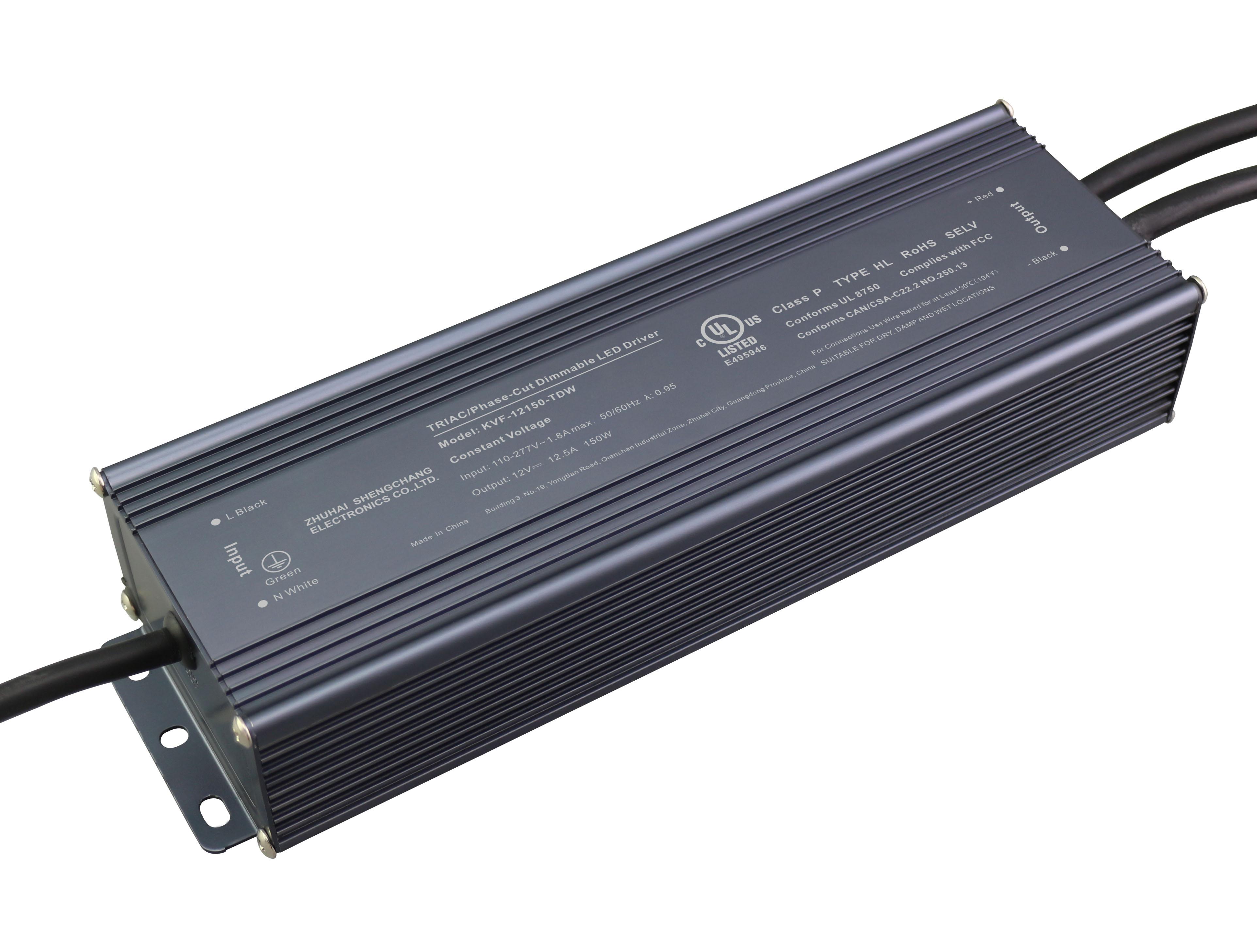UL认证 150W 12V24V 可控硅调光电源