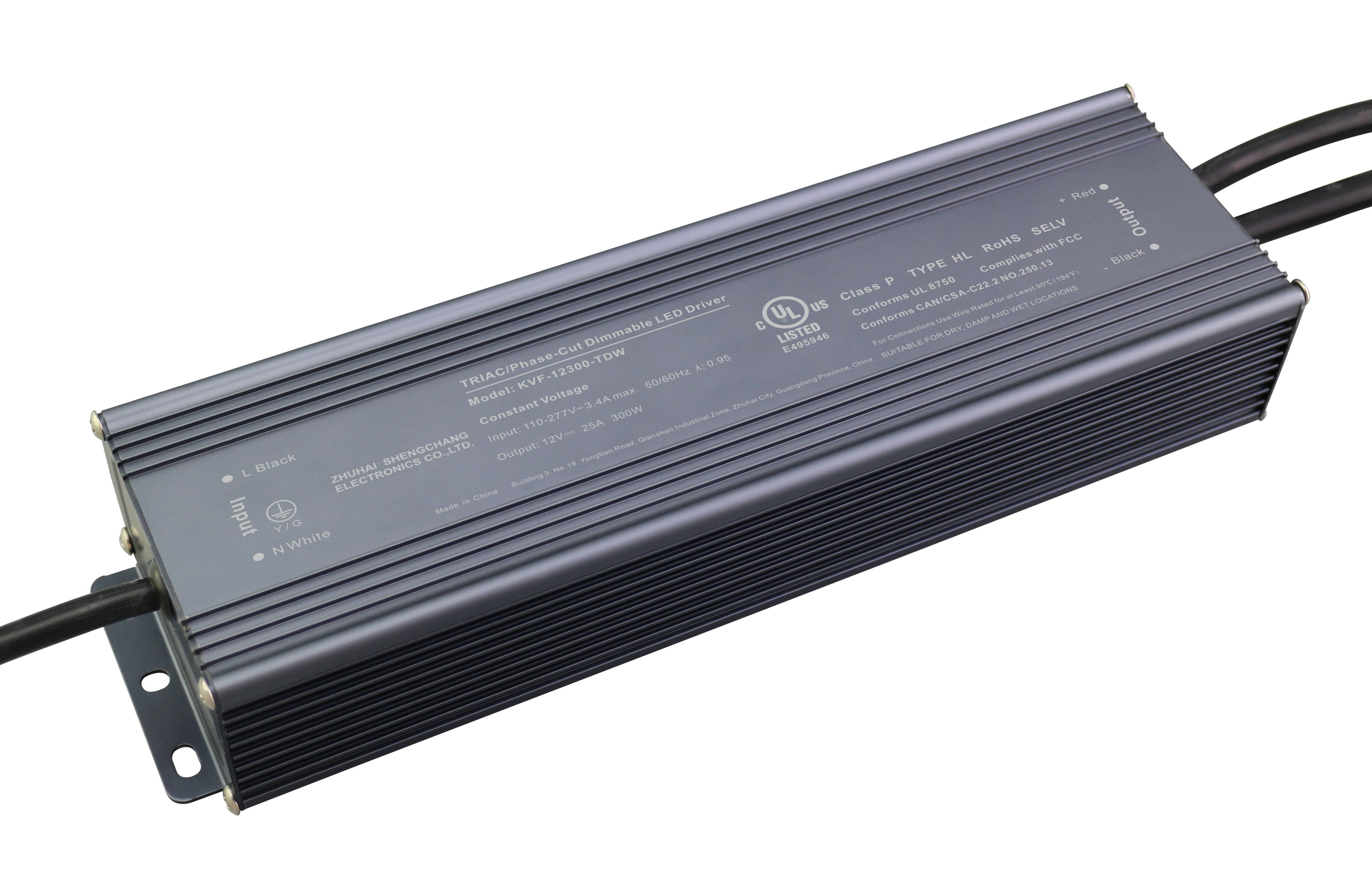 UL认证 300W 12V24V 可控硅调光电源