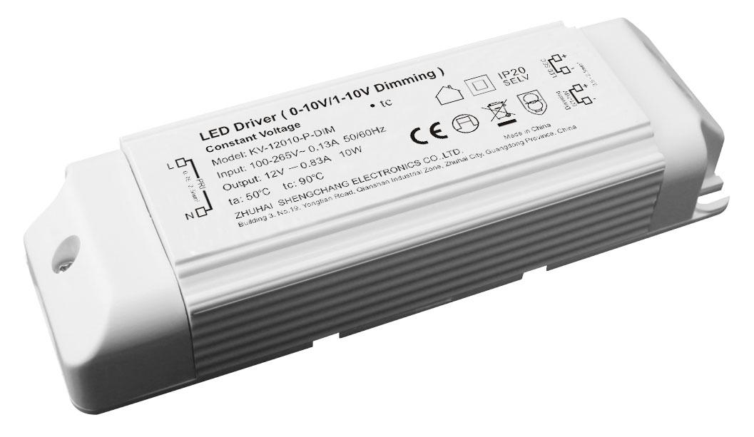 10W 12V/24V 0/1-10V 调光电源