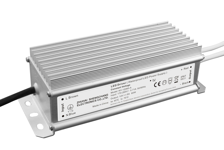 防水恒压 LED驱动电源 60W