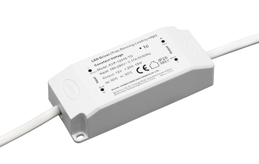 220VAC KVP series 15W Constant Voltage Triac Dimmable LED Driver
