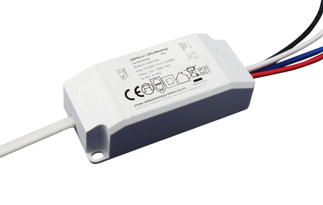 10W DALI constant voltage dimmable LED driver