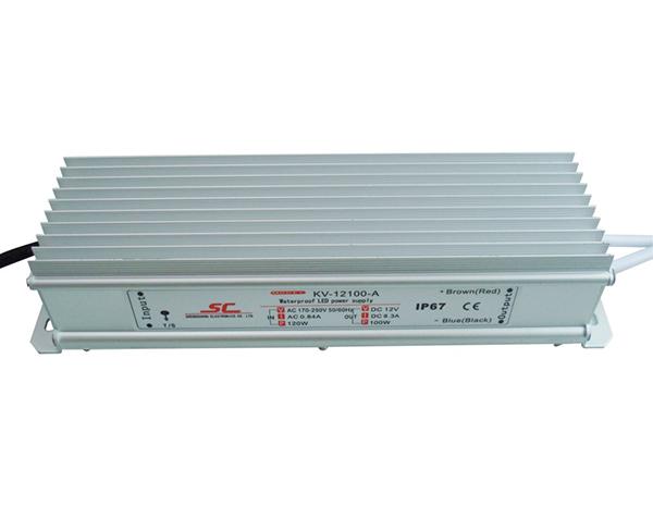 防水恒压 LED驱动电源 100W