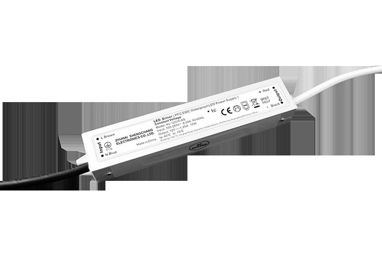 15W 12V/24V PFC EMC防水电源