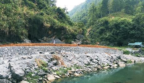 龙山县茄坨河重金属污染综合治理工程