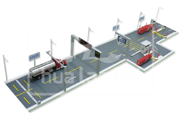 High and low speed dynamic weighing system
