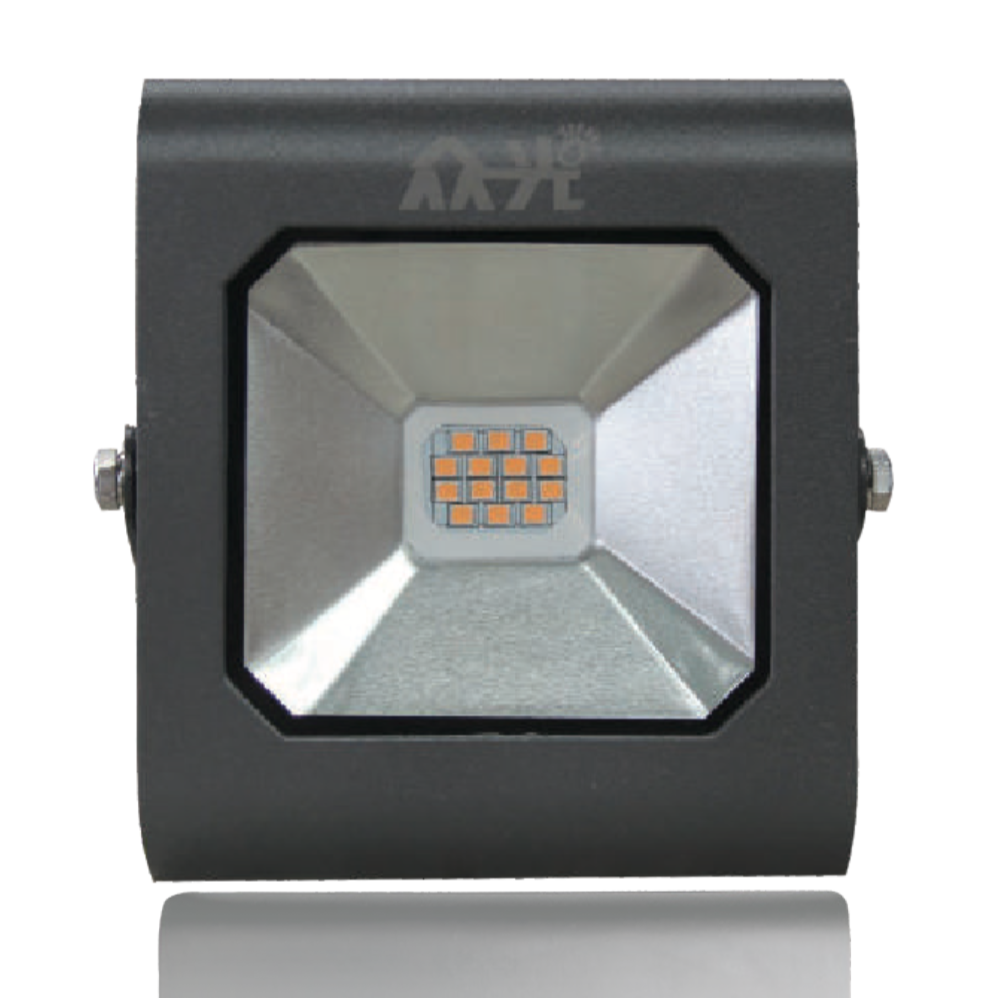 眾光鉆石投光燈30W壓鑄鋁殼體鋼化玻璃LED光源SMD芯片