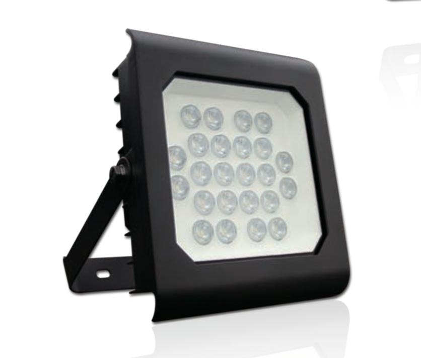 众光钻石小角度投光灯24W铝压铸SMD芯片
