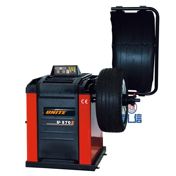 優耐特豪華型數據手動測量輪胎平衡機 U-570