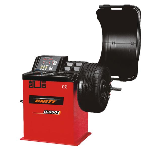 優耐特 標準型數據手動測量輪胎平衡機 U-500