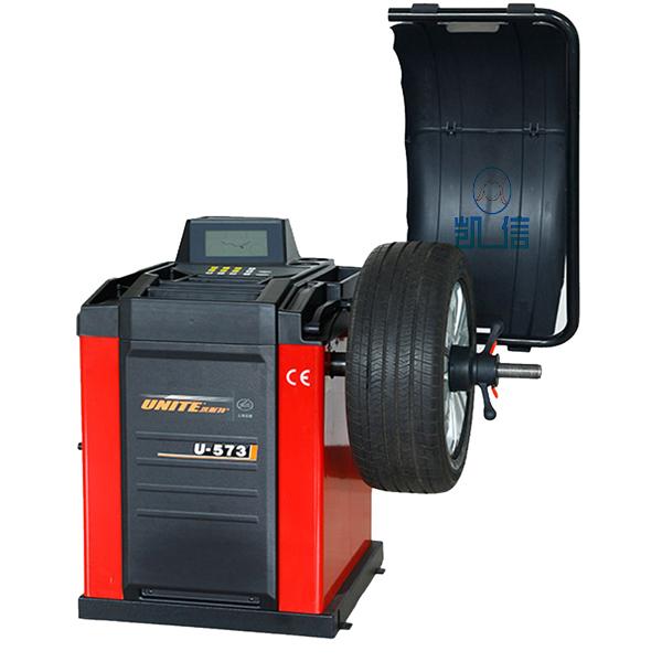 優耐特豪華型數據手動測量輪胎平衡機 U-573