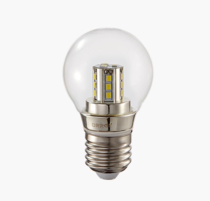 3W  Chrome bulb  E27