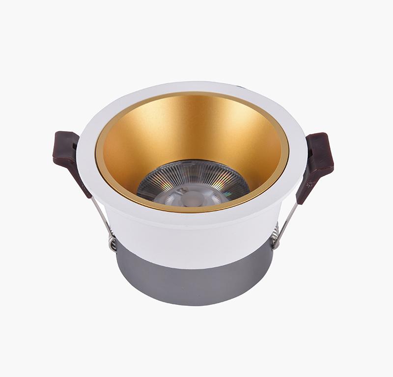 Fixed downlight 7W-Royal gold