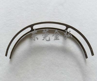 耳机钢条-不锈钢头戴耳机钢条 激光焊接耳机头带 话务耳机金属配件1091