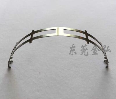 耳机钢条-厂家供应头戴式耳机头钢条 钢弓 钢叉 不锈钢头带1043