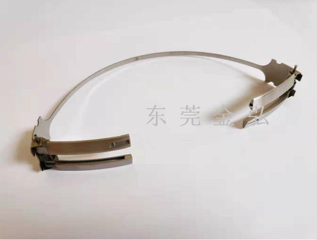 耳机拆叠钢条-耳机钢条 耳机钢头带 耳机滑动壁 耳机配件 喇叭面网