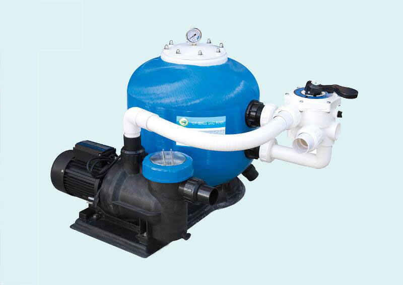 CPS side mount sand filter with pump combo