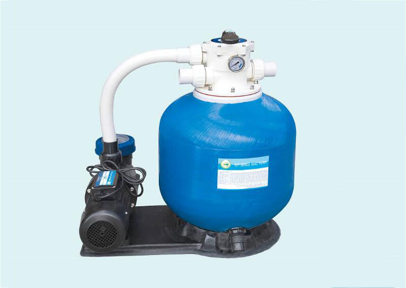 CP top mount sand filter with pump combo